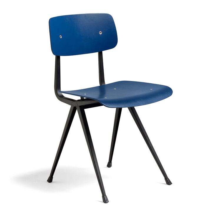 Result Chair von Hay in Dunkelblau / Schwarz