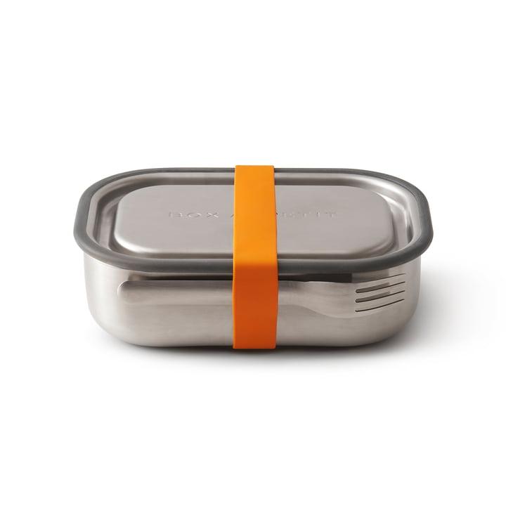 Die Black + Blum - Edelstahl Lunch Box in orange