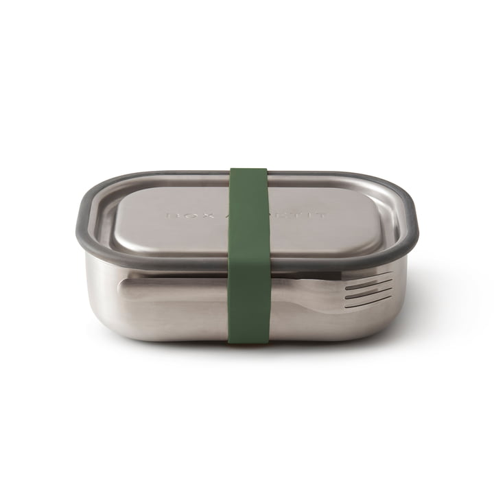 Die Black + Blum - Edelstahl Lunch Box in olive