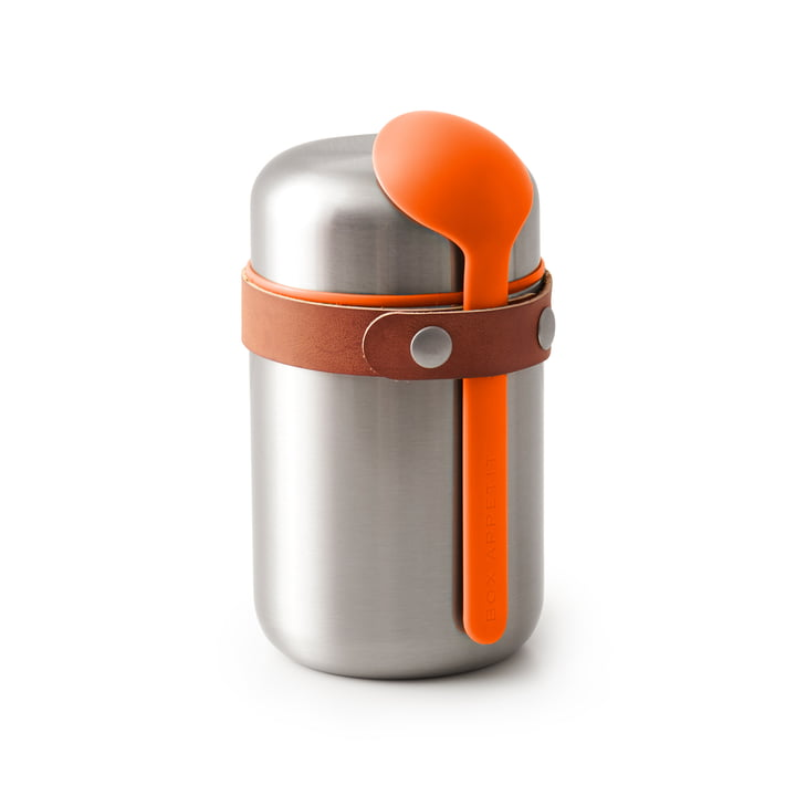 Black + Blum - Food Flask Thermobehälter in orange