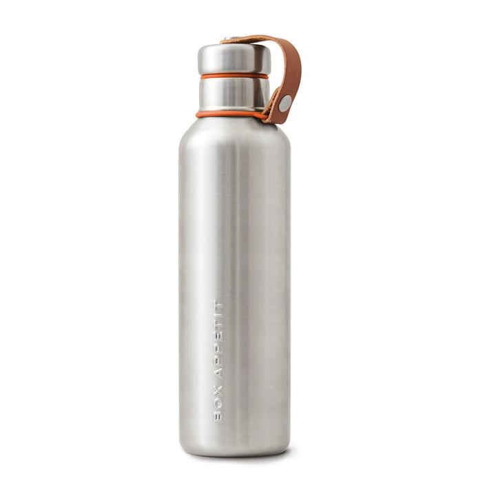 Die Black + Blum - Edelstahl Insulated Water Bottle, 0.75 l, orange