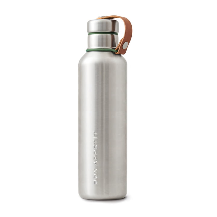 Die Black + Blum - Edelstahl Insulated Water Bottle, 0.75 l, olive
