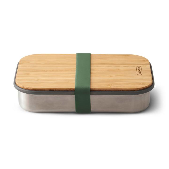 Edelstahl Sandwich Box von Black + Blum in Olive