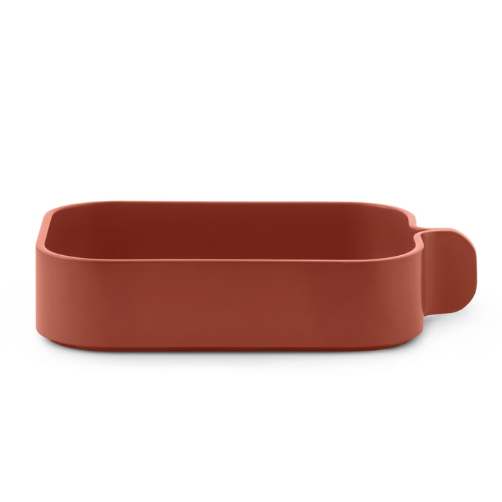 Bent Box von Normann Copenhagen in orange rust
