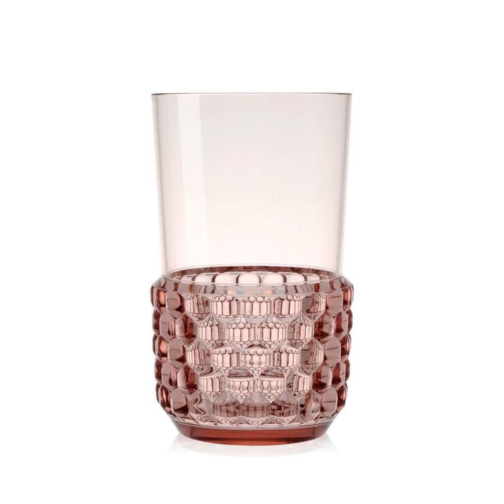Der Kartell - Jellies Becher, Ø 8,5 x H 15 cm in rosa