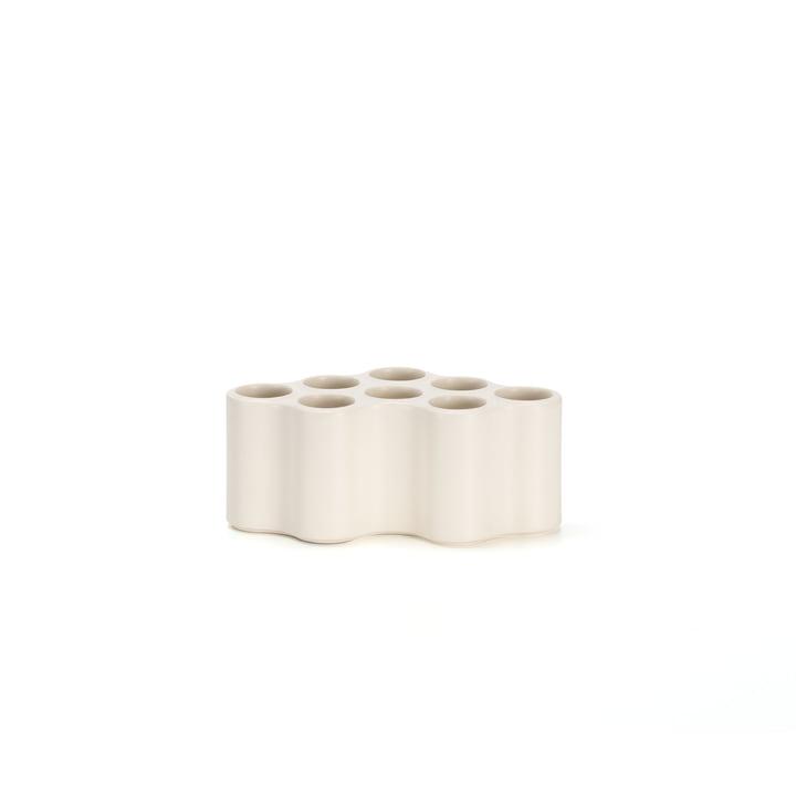 Die Vitra - Nuage céramique Vase, S in weiß