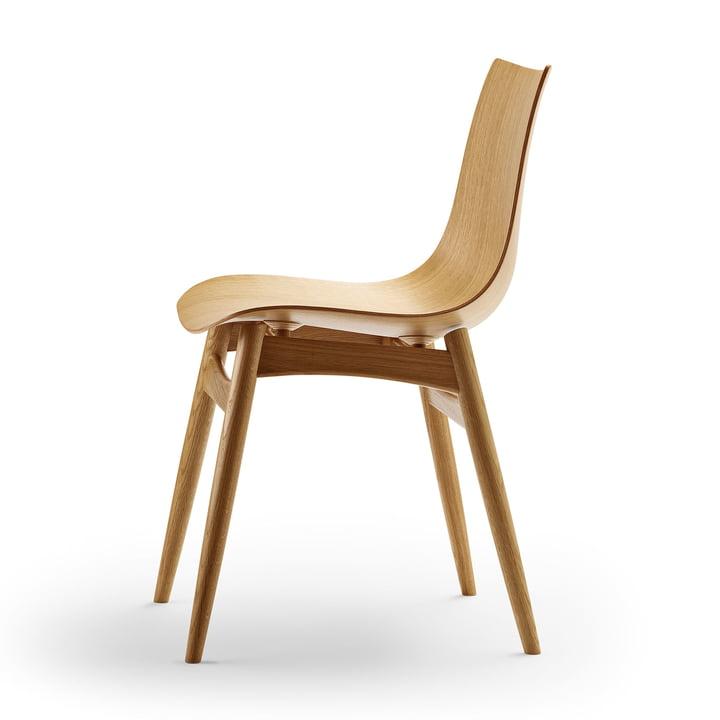 Der Carl Hansen - BA001T Preludia Stuhl in Eiche lackiert