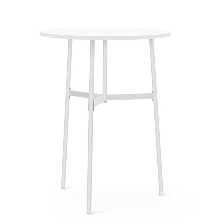 Normann Copenhagen - Union Stehtisch, Ø 80 x H 105,5 cm, weiß