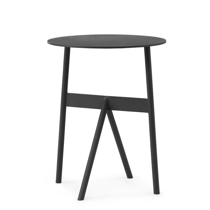 Normann Copenhagen - Stock Tisch, Ø 37 x H 46 cm, schwarz