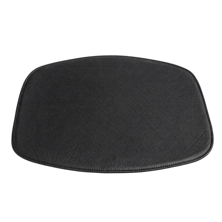 Hay - Sitzkissen für AAC Stuhl ohne Armlehne, Leder schwarz