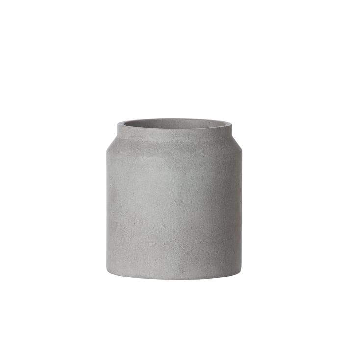 Ferm Living - Pot Blumentopf Ø 16 x H 18 cm, hellgrau