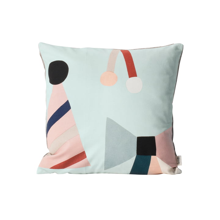 ferm Living - Party Kissen, mint