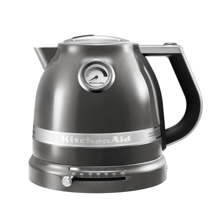 Der KitchenAid - Artisan Wasserkocher 1.5 l in medallion silber