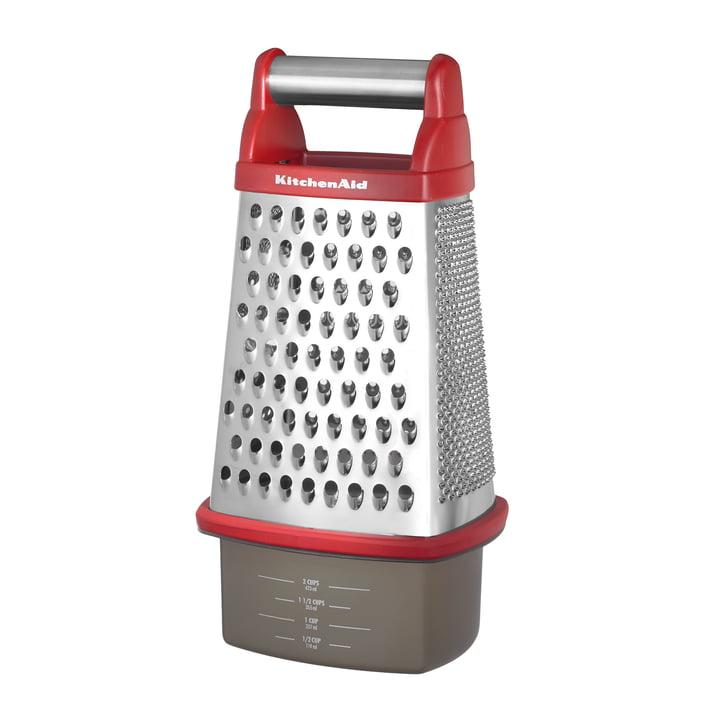 Die KitchenAid - Professional Multireibe in rot mit Box