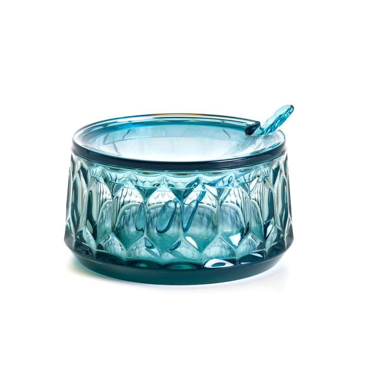 Die Kartell - Jellies Zuckerdose in blau