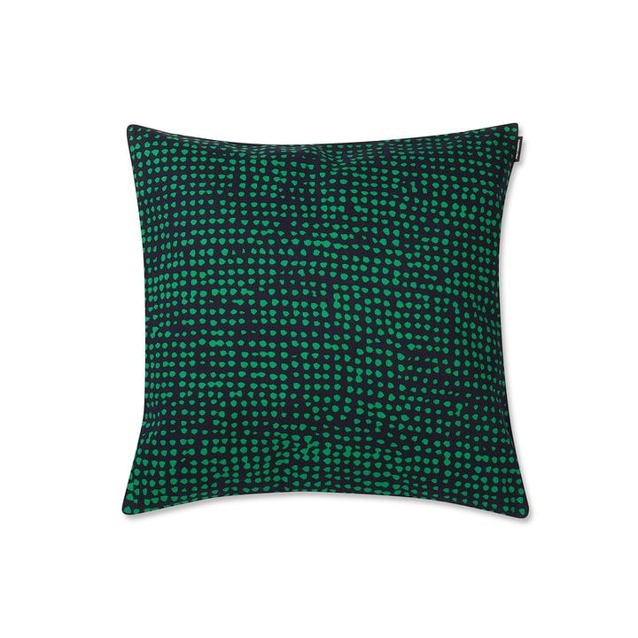 Marimekko - Orkanen Kissenbezug 40 x 40 cm, dunkelblau / grün