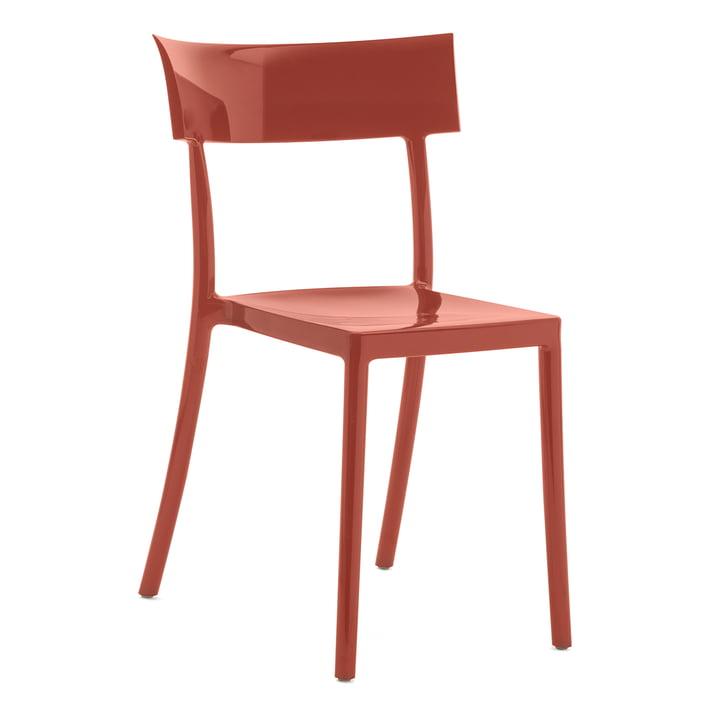 Der Kartell - Catwalk Stuhl in rostbraun