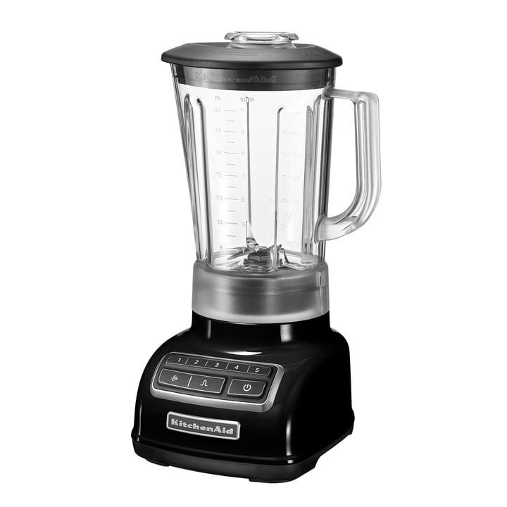 KitchenAid - Standmixer Classic mit 5 Geschwindigkeitsstufen, schwarz