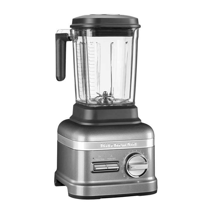 KitchenAid - Artisan Power Plus Standmixer, medallion silber
