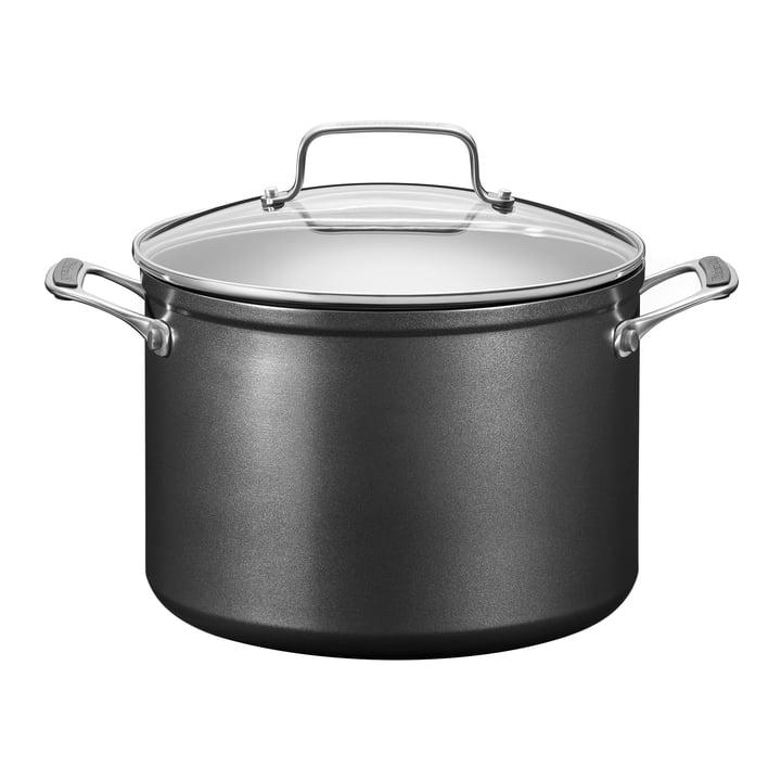 KitchenAid - Harteloxierter Suppentopf mit Deckel 7,6 l, Ø 24 cm /schwarz