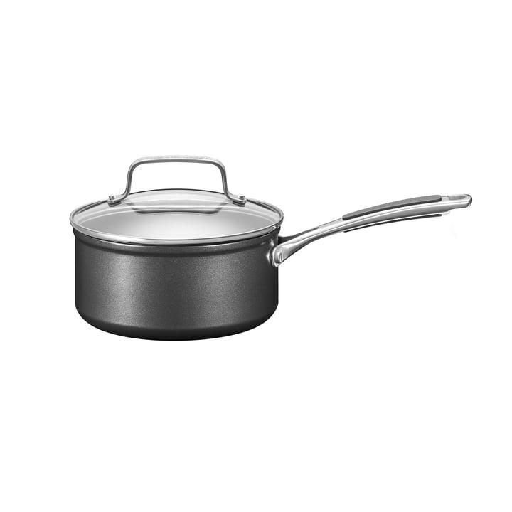KitchenAid - Harteloxierte Kasserolle mit Deckel Ø 16 cm, schwarz