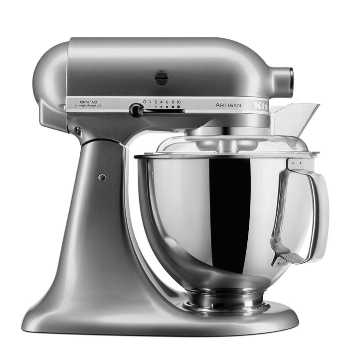 KitchenAid - Artisan Küchenmaschine 4.8 l, kontur-silber