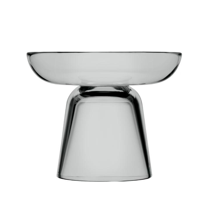 Der Iittala - Nappula Glas-Kerzenständer 107 mm, grau
