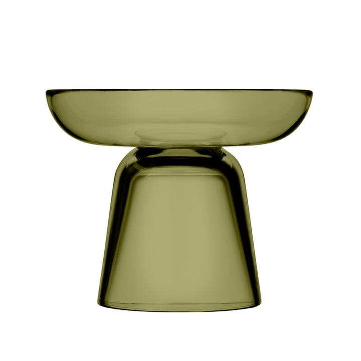 Der Iittala - Nappula Glas-Kerzenständer 107 mm, moosgrün