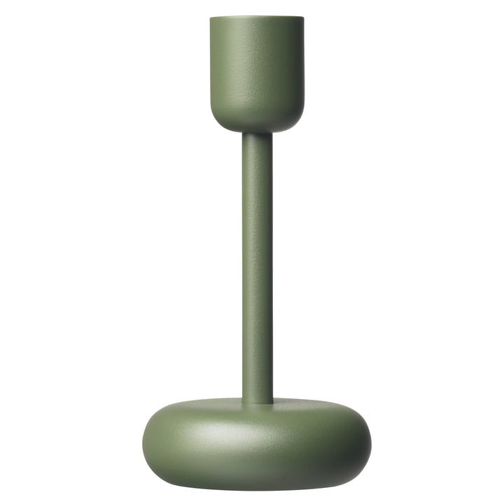 Der Iittala - Nappula Kerzenständer 183 mm, moosgrün