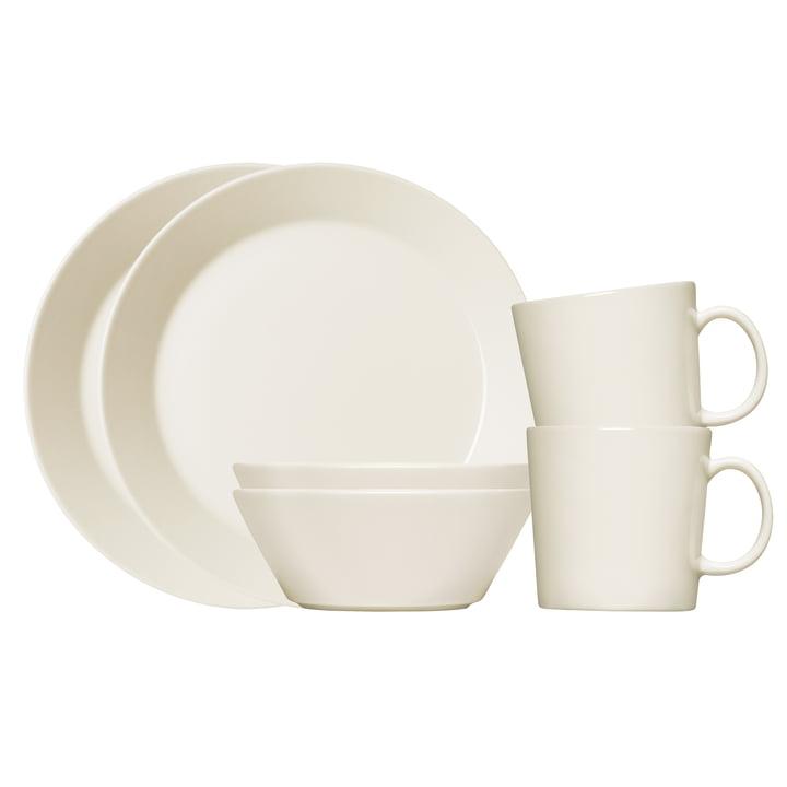 Das Iittala - Teema Frühstücks-Set, 6-teilig in weiß
