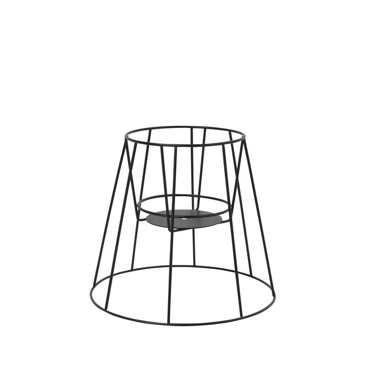 Der OK Design - Cibele Blumentopfständer H 30 cm, schwarz