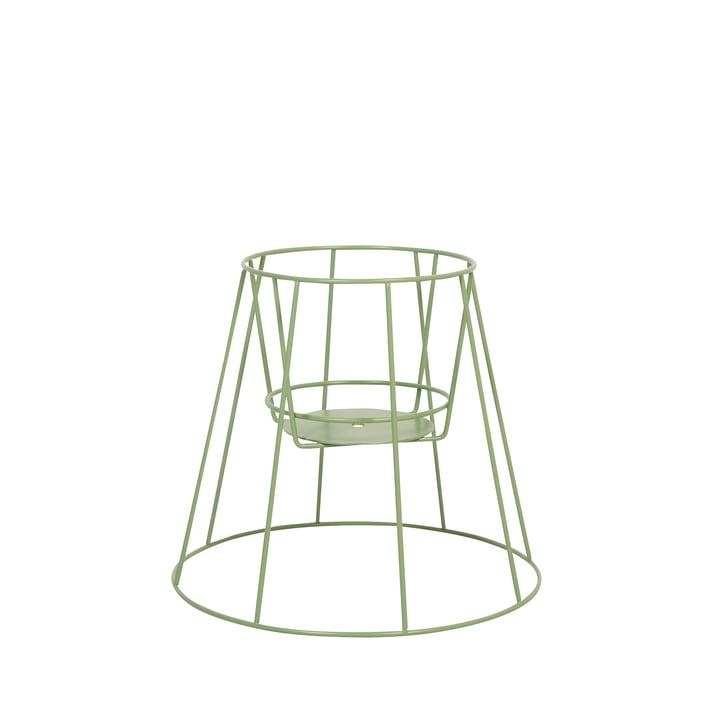 Der OK Design - Cibele Blumentopfständer H 30 cm, sea green