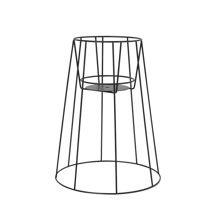 Der OK Design - Cibele Blumentopfständer H 45 cm, schwarz