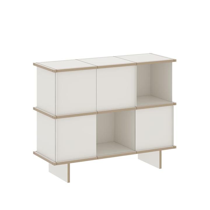 Konstantin Slawinski - YU Sideboard 3 x 2, MDF weiß / weiß