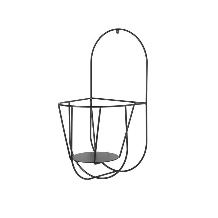 Der OK Design - Cibele Wand-Blumentopfhalter Small in schwarz