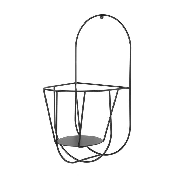 Der OK Design - Cibele Wand-Blumentopfhalter Large in schwarz