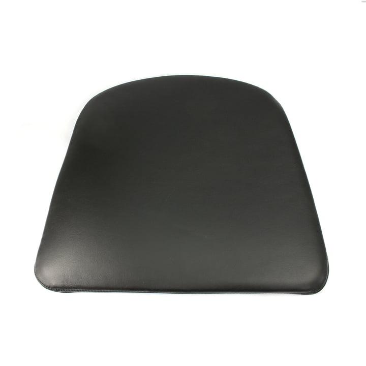 Sitzkissen für J42 Armlehnstuhl von Hay in Softleder/ schwarz