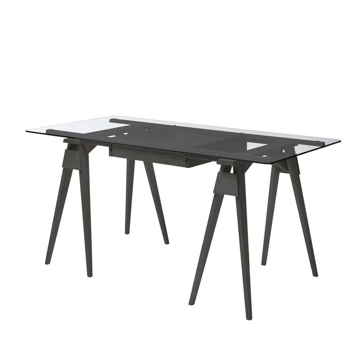 Der Design House Stockholm - Arco Schreibtisch in schwarz