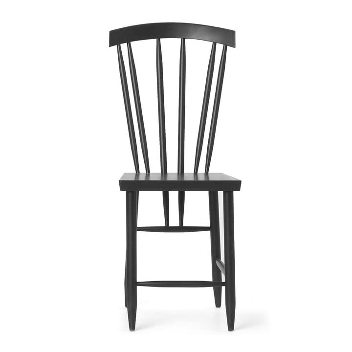 Der Design House Stockholm - Family Chair No. 3, schwarz