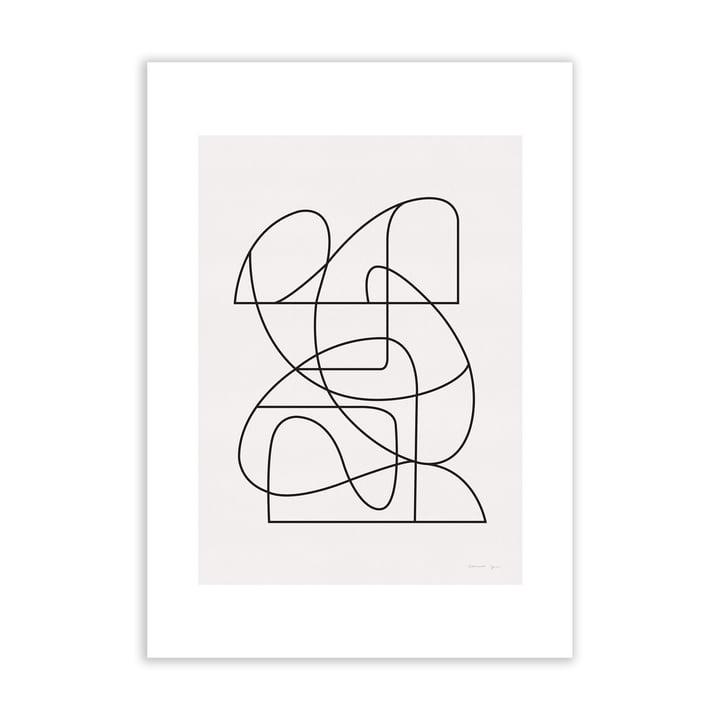 Linienzeichnung - Kunstposter von Atelier CPH