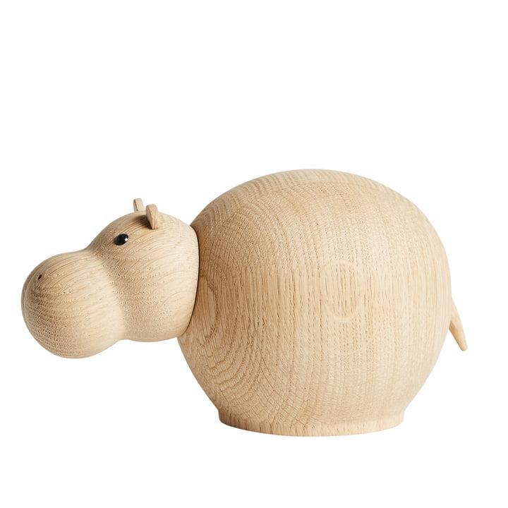 Woud - Hibo Nilpferd, Eiche matt lackiert / medium