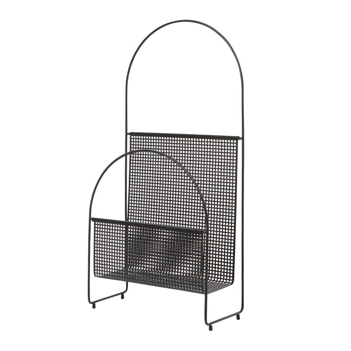 OK Design - Nouvelle Magazinhalter, schwarz