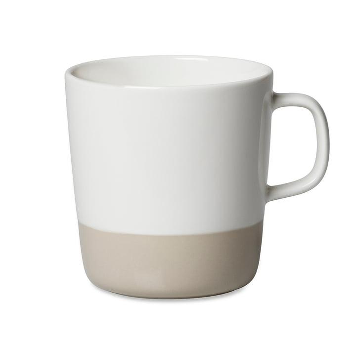 Marimekko - Oiva Puolikas Becher mit Henkel, 400 ml, weiß / beige