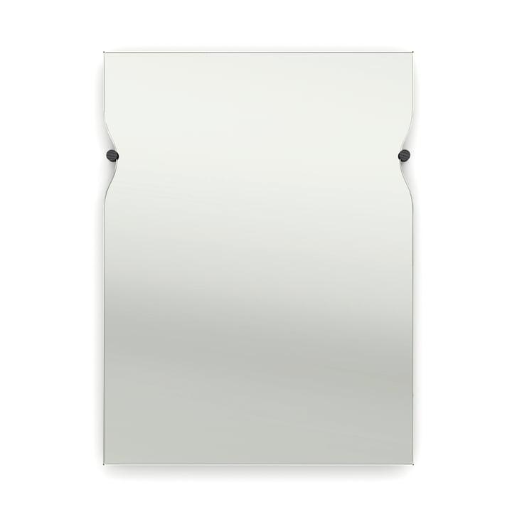 Frederik Roijé - Morphed Mirror, Esche schwarz gebeizt