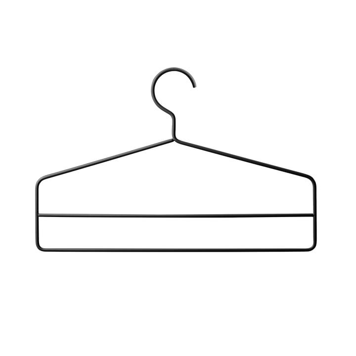 String - Kleiderbügel, schwarz (4er-Set)