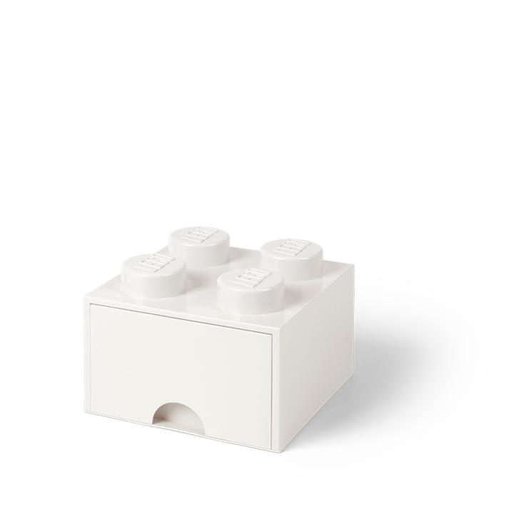 Lego - Brick Drawer 4 Aufbewahrungsbox, weiß