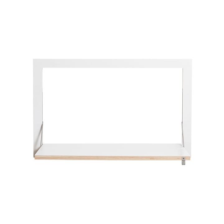 Fläpps Sekretär/in 80 x 50 cm von Ambivalenz in weiß