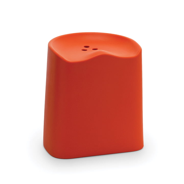 Der Established & Sons - Butt Hocker in orange