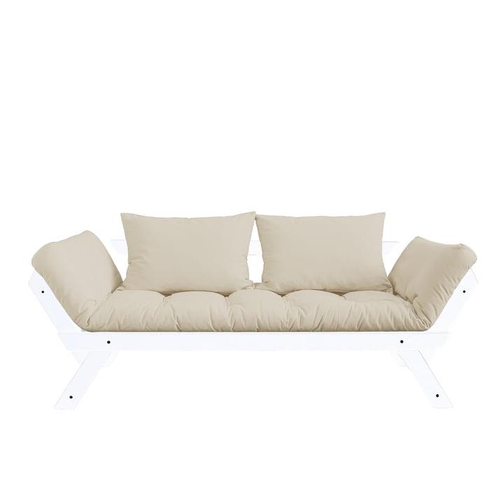 Das Karup Design - Bebop Sofa in Kiefer weiß / beige