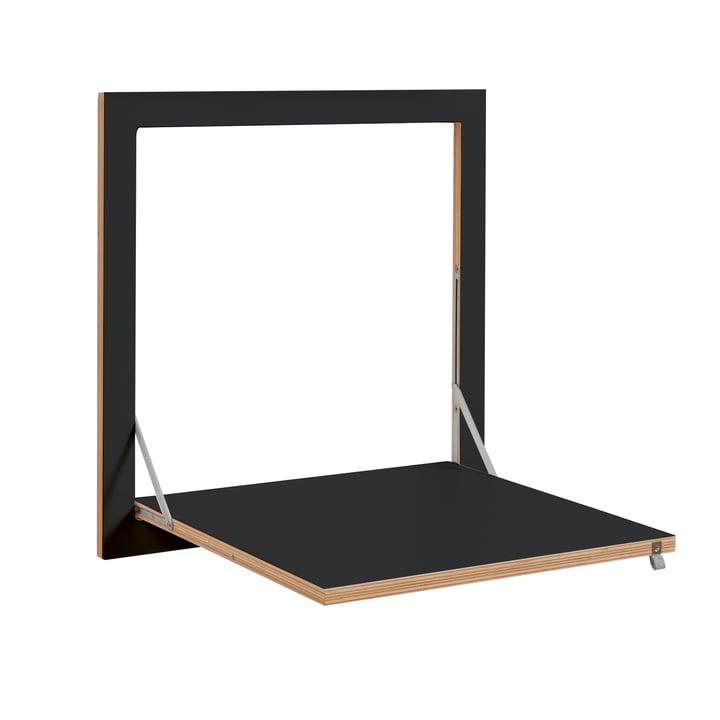 Ambivalenz - Fläpps Kittchen Tisch, schwarz